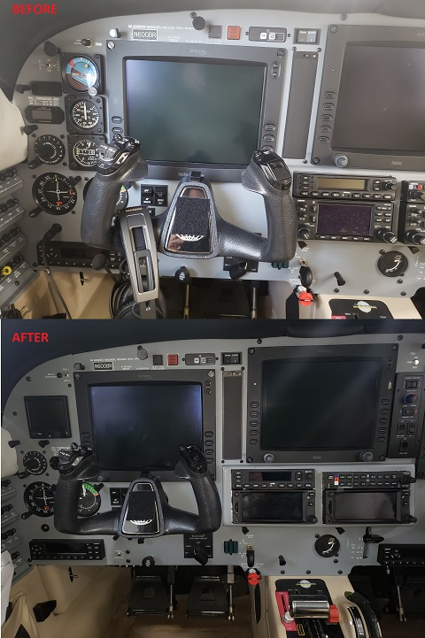 Installation : N600BR PA46-500TP Stand-by Upgrade – RC Avionics